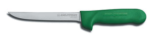 Narrow Boning Knife Green Handle 15cm