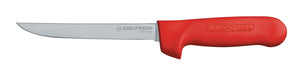 Narrow Boning Knife Red Handle 15cm