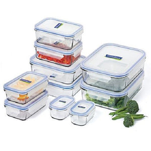 10 piece Microwave Safe Food Storage Container Set