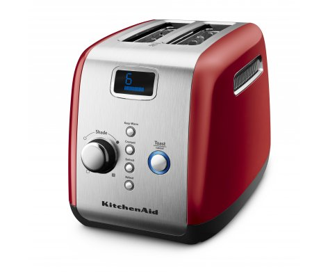 2 Slot Toaster in Empire Red