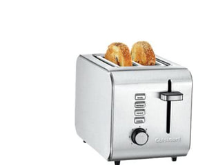 2 Slice Toaster Stainless Steel