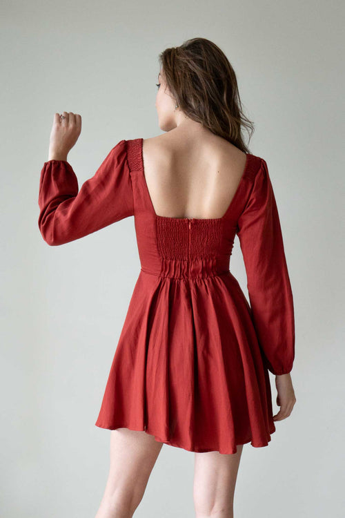 Aubrey Rose Red Dress
