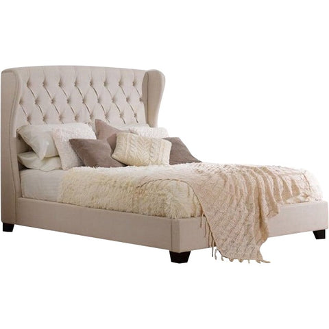 Regal Wing Chesterfield Sleigh Bed