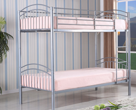 Yorkshire Silver Bunk Bed