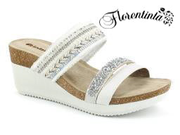 Bio Silver Ciabatta Wedges (Shoes)