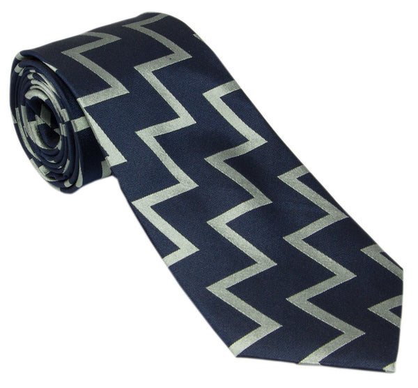 Fleet Air Arm and Commando Helicopter zigzag ties and bow ties, Hand made silk or polyester.