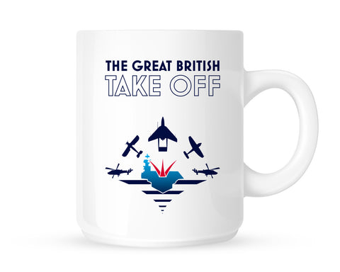 Great British Take Off mug