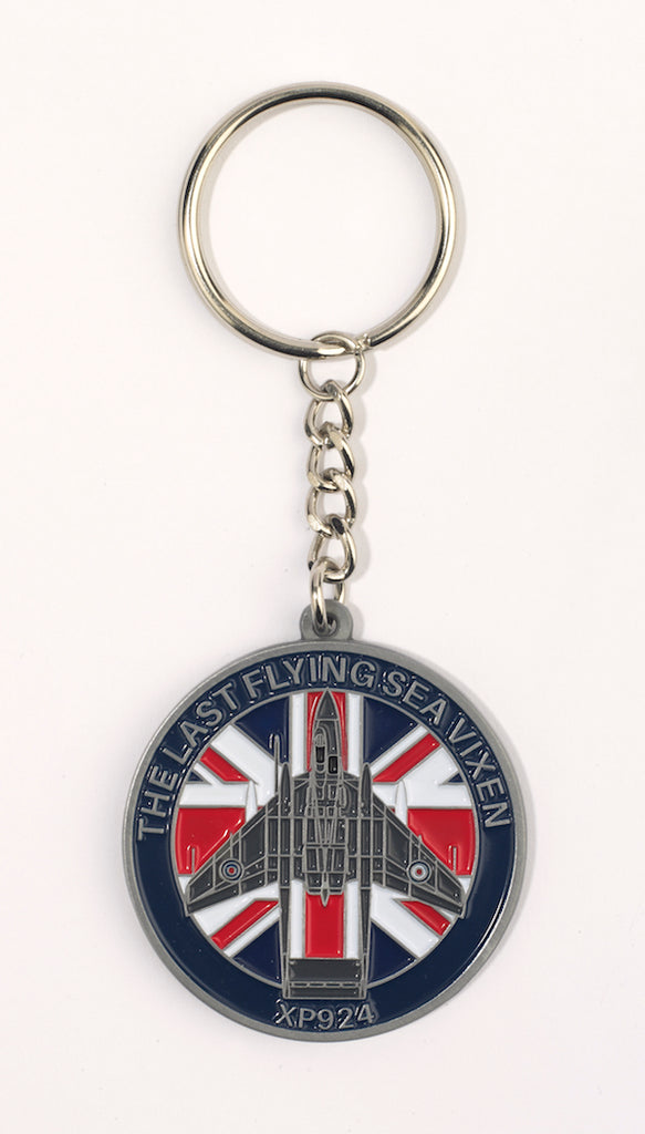 Navy Wings Sea Vixen & Sea Fury key rings