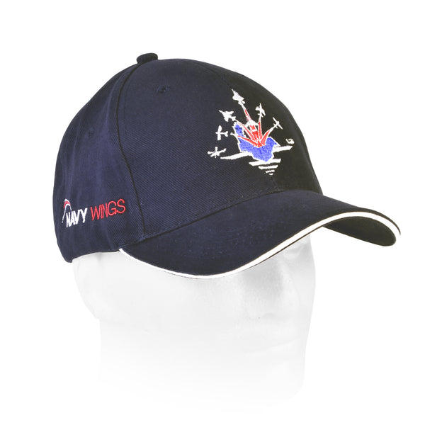 Navy Wings High Quality Baseball Cap with choice of classic aircraft motifs