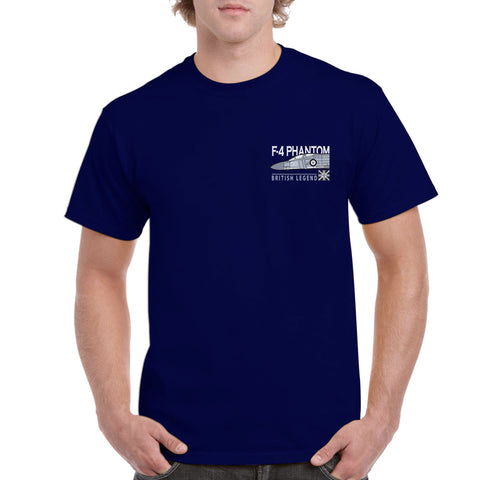 British Legends Navy T Shirt - A choice of Classic Aircraft