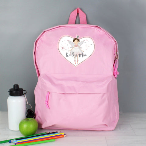 Personalised Fairy Princess Backpack