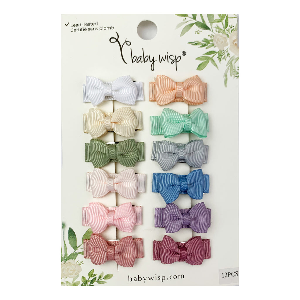 BABYWISP Snap Clips - 12 Pack