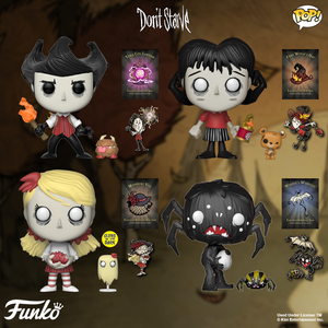 Funko POP! Games DON'T STARVE coming soon