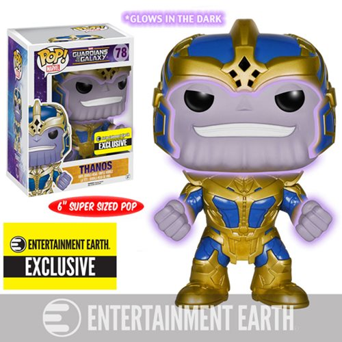 POP! Marvel Guardians Of The Galaxy Thanos 6