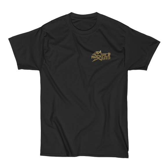 Rockfile Radio Pocket Logo Men's Short Sleeve Beefy-T Shirt