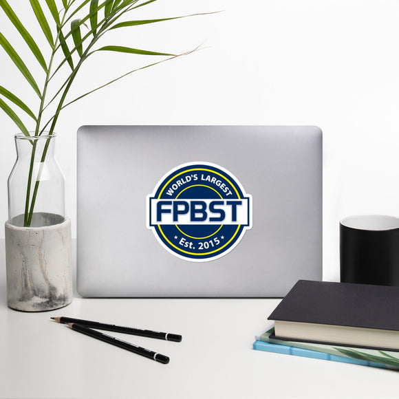 FPBST Logo Bubble-free stickers