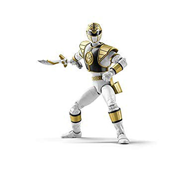 Power Rangers Lightning Collection 6-Inch Figures Wave 1: WHITE RANGER