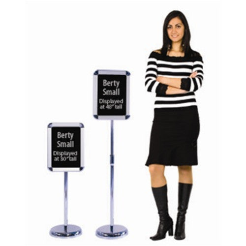 Berty Snap Frame Metal Sign Stand (Small)