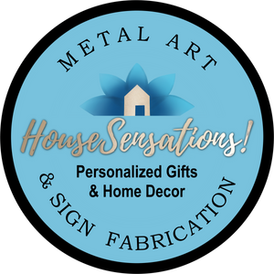 House Sensations Metal Art