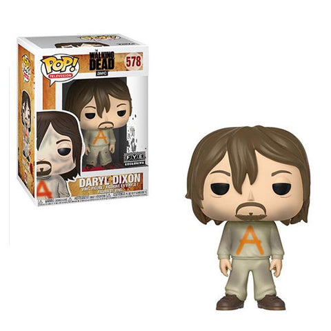 POP! Television The Walking Dead Daryl Dixon Prison Suit Funko POP
