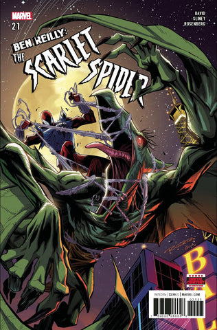 Ben Reilly Scarlet Spider #21