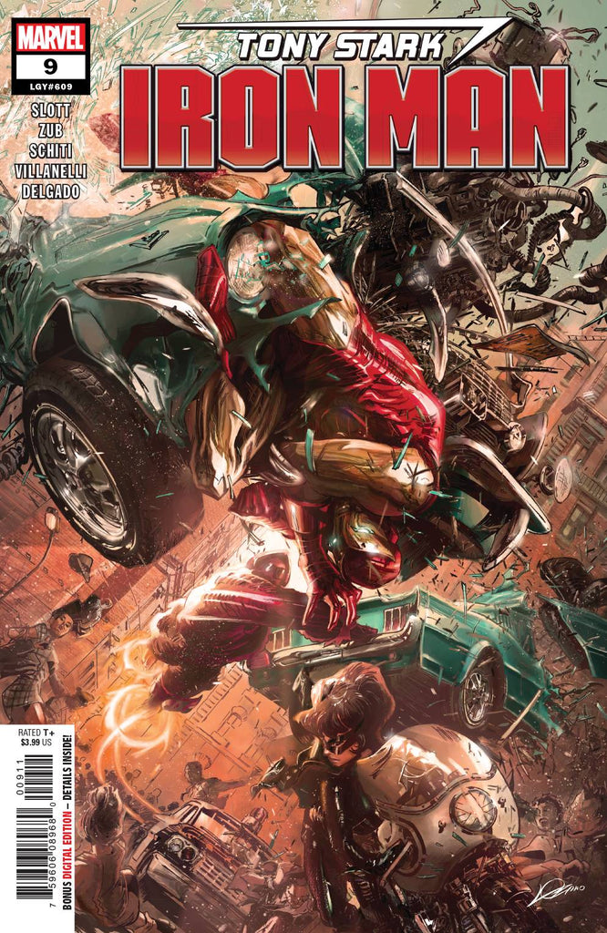 Tony Stark Iron Man #9
