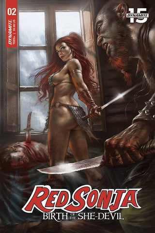 Red Sonja Birth of She Devil #2