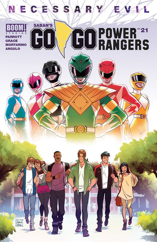Go Go Power Rangers #21