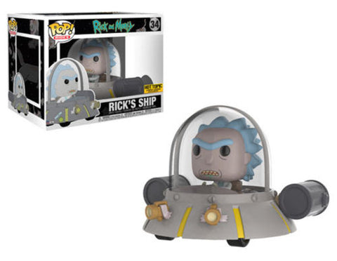 POP! Rides Rick & Morty Rick's Ship Funko POP