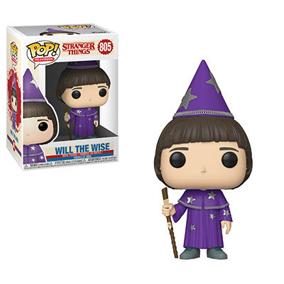 POP Television Stranger Things S3 Will the Wise Funko POP