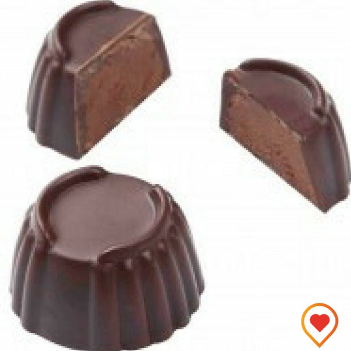Rich dark Chocolate hand filled in a dark Chocolate shell - Foodwalas.com