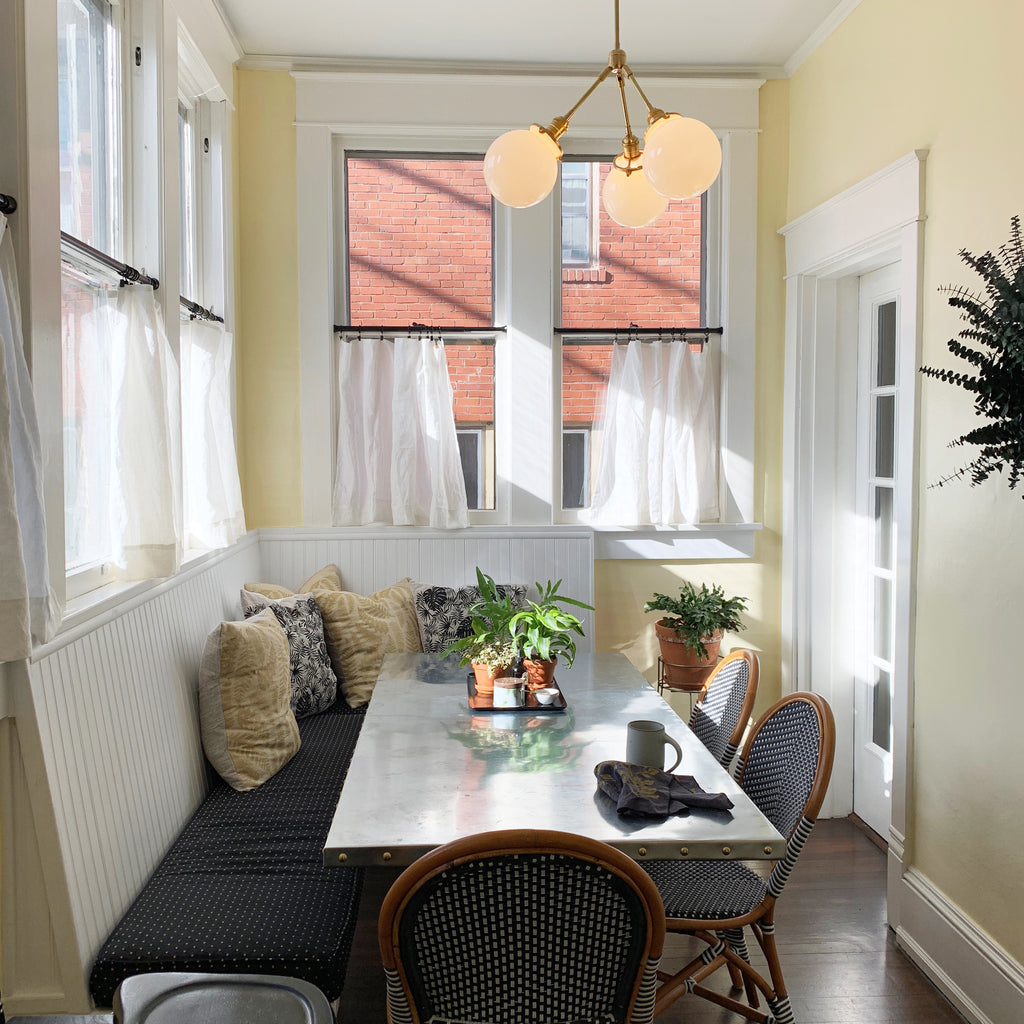 Creative Project at Home: The Banquette Room