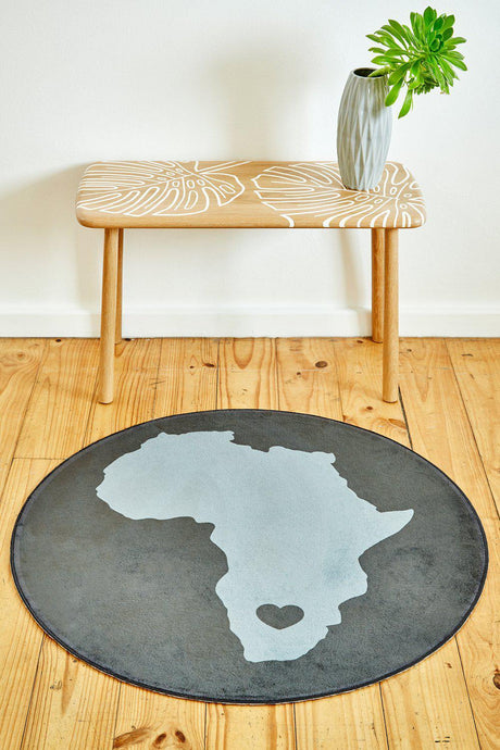 African Grey Circle-rugs-Airloom
