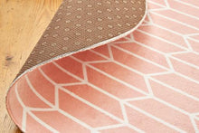 Geo Chevron Blush-rugs-Airloom