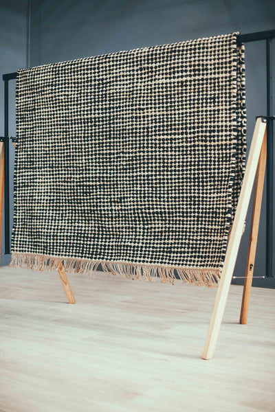Husk Hemp Dhurrie-rugs-Airloom