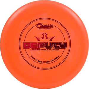 Dynamic Discs Classic Blend Deputy Putter Golf Disc