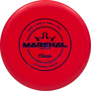 Dynamic Discs Classic Line Marshal Putter Golf Disc