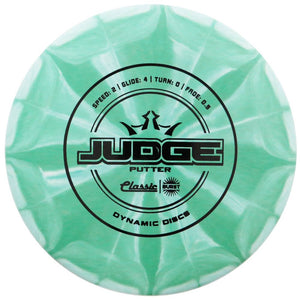 Dynamic Discs Classic Line Burst Judge Putter Golf Disc