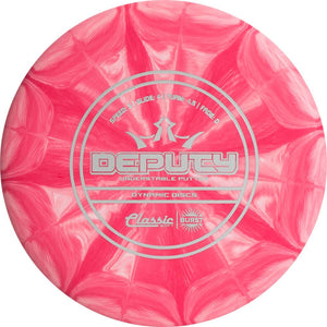 Dynamic Discs Classic Soft Burst Deputy Putter Golf Disc