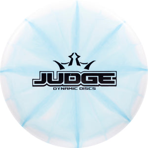 Dynamic Discs Limited Edition Bar Stamp Moonshine Glow Prime Burst Judge Putter Golf Disc