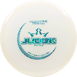 Dynamic Discs Moonshine Glow Lucid Judge Putter Golf Disc