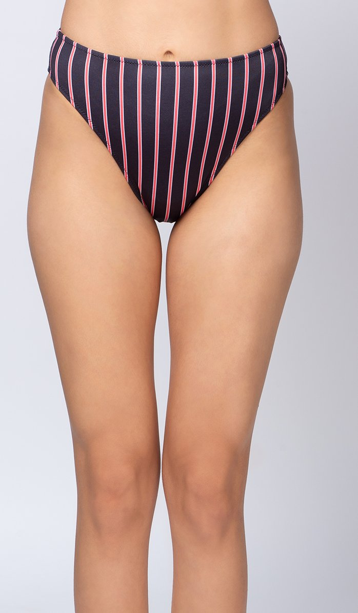 Chelsea Brazilian High-waist Bikini Bottom