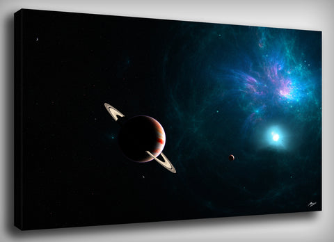Stellar Nursery Canvas Print, By CrownosArts