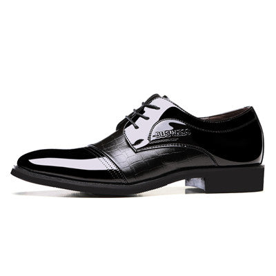 Genuine Leather Lace-up Formal Shoes, , Stylenol- Stylenol
