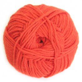 Cotton - Tangerine - Yarnia Craft Closet