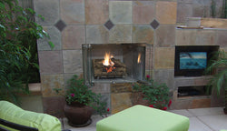 VRE3000  Outdoor Fireplace - Vent-Free - System