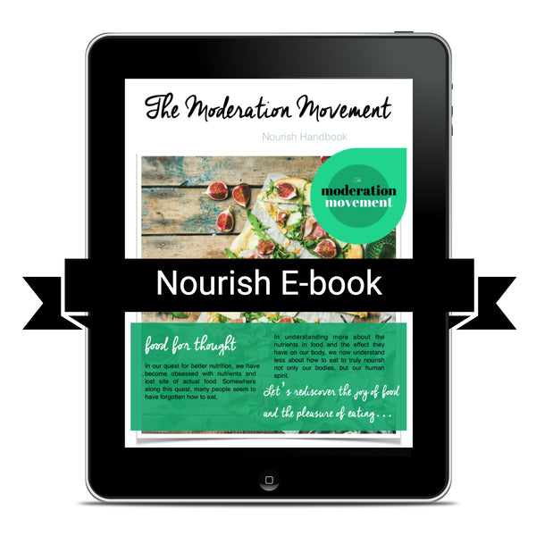 Nourish Handbook - An ebook to improve your relationship with food