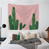 nature Wall Decor, Pink Cactus Tapestry, beautiful natural decor, nature inspired designs, best home decor, Forest Homes