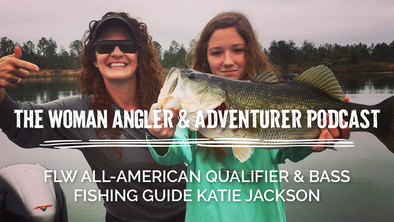 EP. 60 FLW All-American Qualifier and Guide at a Floridian Bass Fishing Utopia Katie Jackson