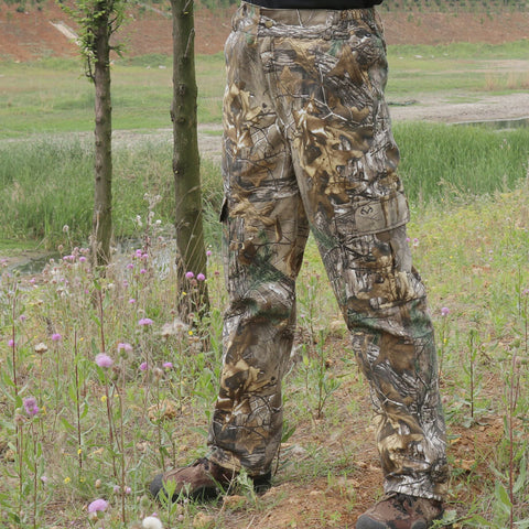 Camouflage Tree Men's Ripstop Hunting Pants